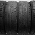 4 1856015 Continental 185 60 15 Part Worn Used 185/60 15 Car Tyres x4 Conti