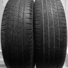 2 2157016 Michelin 215 70 16 Used Part Worn Tyres x2 Latitude Car 215/70 16 HP