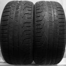 2 2554020 Pirelli 255 40 20 Winter Used Part Worn Tyres x 2 N0 Spec Sottozero