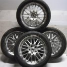 "4 Alloy Wheels Used Tyres 5x120 18"" VW Volkswagen T5 Transporter Van Load Rated x4 725KG"
