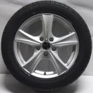 4 17&quot; Alloy Wheels 225 55 17 NEW Tyres Van T5 VW Volkswagen Camper 960kg 7.5x17 Rated Alloys