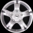 "BK323 16"" Alloy Wheels Ford Transit 5x160 Et50 6.5x16 Load Van Rated 955kg"