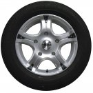 "BK323 16"" Alloy Wheels Tyres Ford Transit 5x160 Et50 6.5x16 Load Van Rated 955kg"