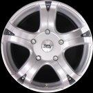 "BK323 18"" Alloy Wheels Ford Transit 5x160 Et50 8x18 Load Van Rated 955 Kg"