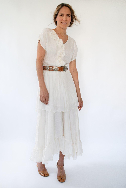 Stevie Silk Skirt