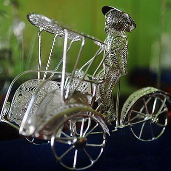 Miniature Becak Jogya