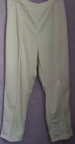Pants - Ladies Ivory Polyester - Size 18 - NIP