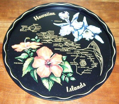 Hawaiian Islands Tray - Vintage - NIP