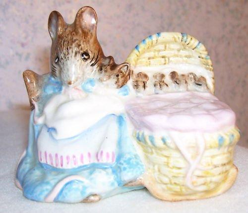 Beatrix Potter Hunca Munca figurine - 1951