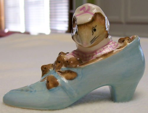 The Old Woman Who Lived In Shoe - Beatrix Potter - 1959