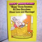 "HAPPY ANNIVERSARY CARD - ""MOM"" FEENY - 1978 - UNUSED"