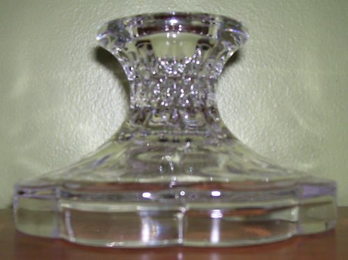 Candle Holder - Lead Crystal - Zajecar- pillar or taper