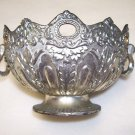 E. P. Zinc Ornate Bowl - vintage