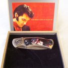 Elvis Presley Collectible Knife - Wooden Box
