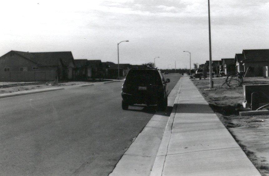 Car in the Suburbs (1)
