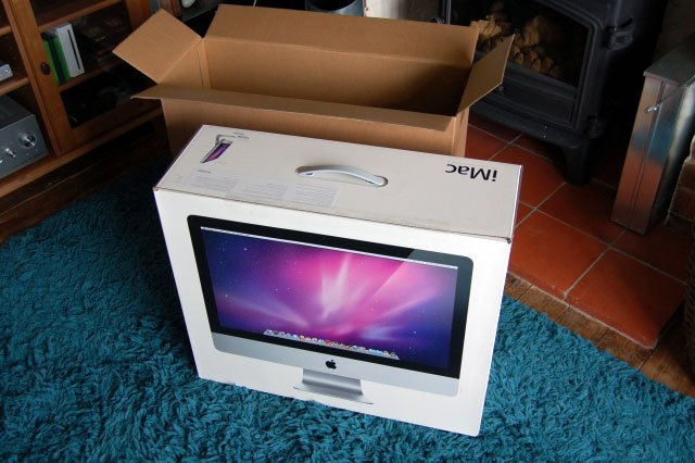 Apple iMac 256 gig hard drive [refurbished ]