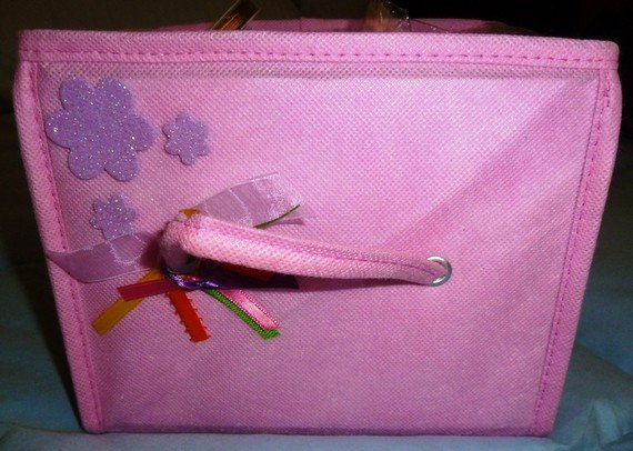 Pink Storage Box for Ribbons or Wrap or anything else
