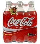 Coke Bottle 6-pk