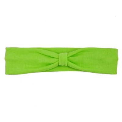 Green Cotton Knit Headband