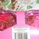 retro pink glitter glam heart shaped sunglasses