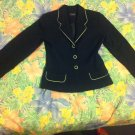 Black and Green / Lime Ladies Tailored Fitted Jacket 'Detour' - Size 10