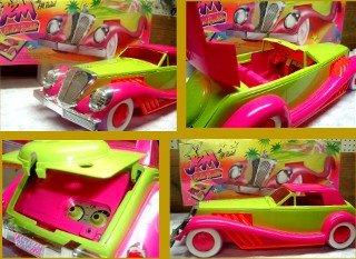 Vintage Jem Barbie Radio Car