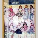 Vintage and New Barbie & Skipper Sewing Patterns