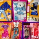 7 Fashions New In Package Barbie Clothing