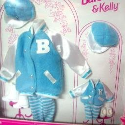 New in Package Barbie & Kelly Matchin Styles