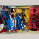 4 Super Hero Barbie Dolls Lot
