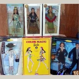 5 Collectible Barbies Never Removed From Boxes