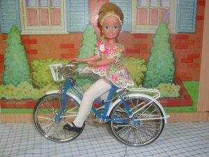 3 Collectors Bicycles Perfect For Barbie & Friends