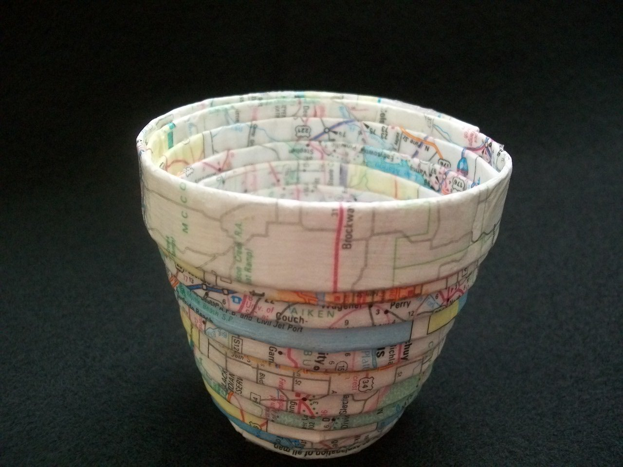 Map Bowl- small