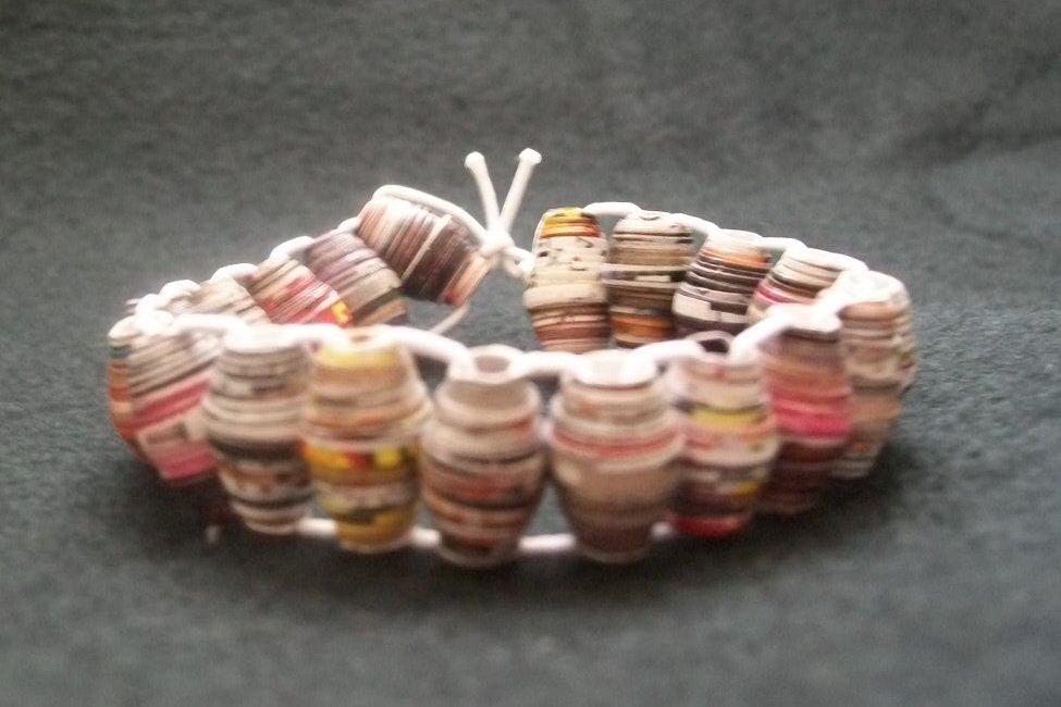 Recycled Mag. Bracelet