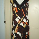 TIANA B  A-line Dress, Multi-Color, EUC!