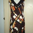 TIANA B  A-line Dress, Multi-Color, EUC!