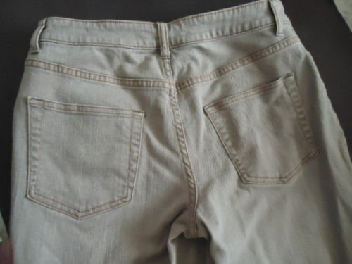 """COLDWATER CREEK Stretch Jeans, Adjusted 25"""" Inseam, 8P"""
