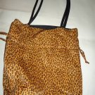Avon Nylon Reversible Animal Print Bag, Pre-owned