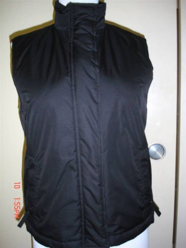 LIZ CLAIBORNE Black Vest, S, NWT,REDUCED!