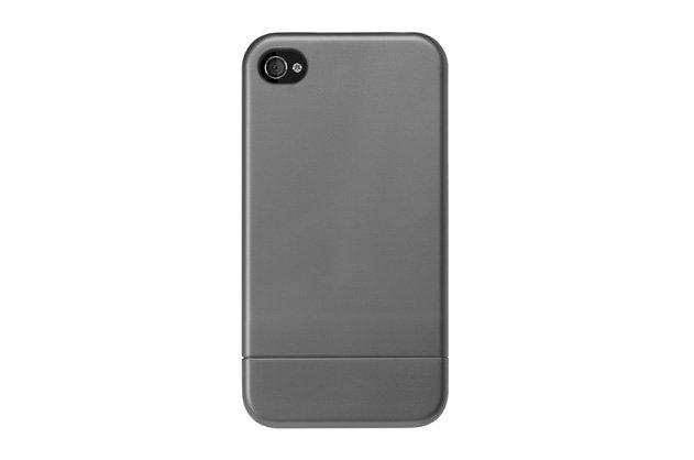 Metallic Slider Case - Gray