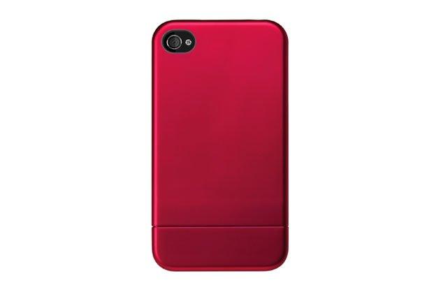 Metallic Slider Case - Red