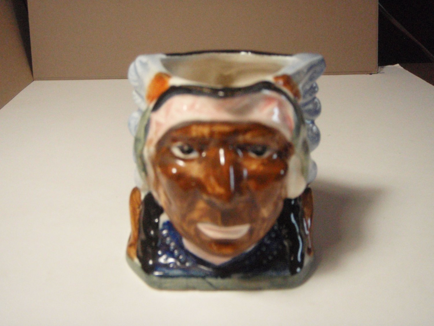 Vintage Indian Chief Character Creamer Occupied Japan Toby Style