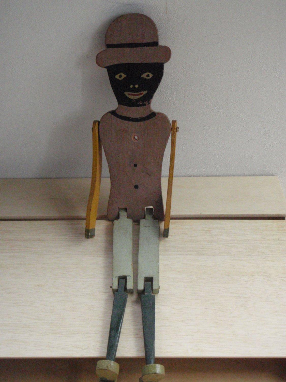 1930's Black Americana Jig Dancer/ Limberjack toy folk art