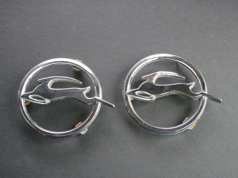 Vintage CHEVY  Impala Emblems (2)
