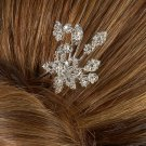 Flower Burst Rhinestone Hair Pin