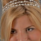 3-Row Rhinestone Headband
