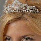 Princess Style Rhinestone Tiara Comb