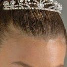 Pearl and Rhinestone Tiara Comb