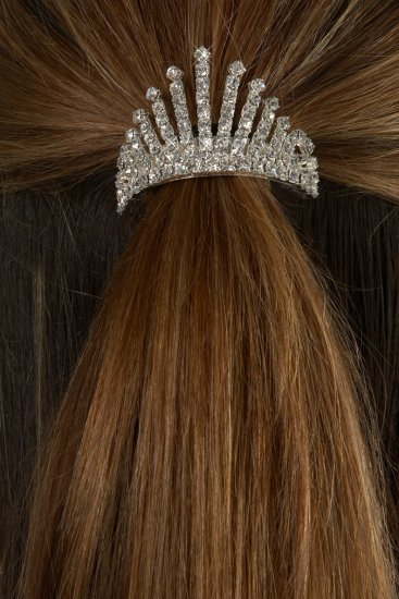 Royal Ice Rhinestone Ponytail Holder