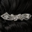 Pretty Bow Rhinestone Barrette